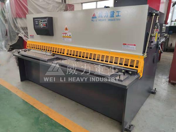 4*2500液压摆式剪板机